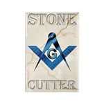 Stone Cutter Rectangle Magnet (10 pack)