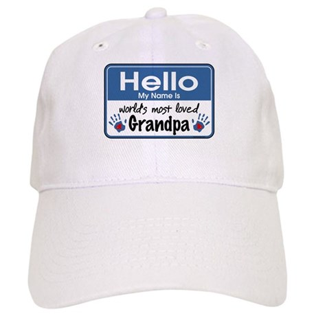 Hello Loved Grandpa Cap