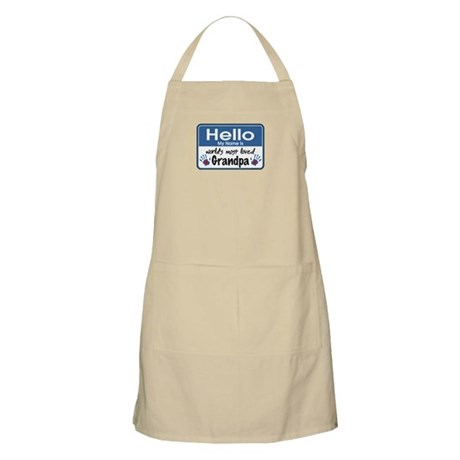 Hello Loved Grandpa BBQ Apron
