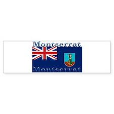 Montserrat Bumper Bumper Sticker
