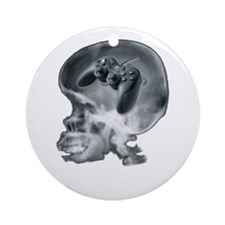 PS2 X Ray Ornament (Round)