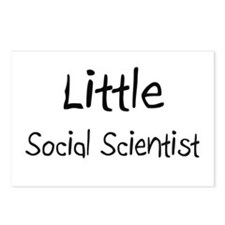 Little Social Scientist Postcards (Package of 8)