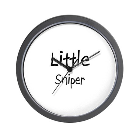 Little Sniper Wall Clock