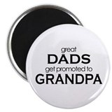Grandparents to be 2.25&quot; Round Magnet