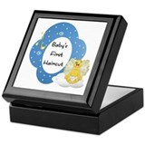 Baby's First Haircut Keepsake Box
