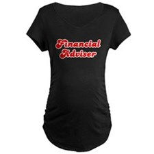 Retro Financial a.. (Red) T-Shirt