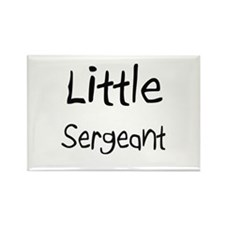 Little Sergeant Rectangle Magnet (10 pack)