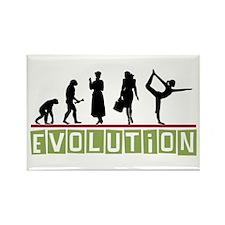 Evolution Yoga Rectangle Magnet