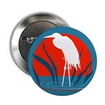 "White Crane 2.25"" Button (100 pack)"