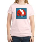 White Crane Women's Light T-Shirt