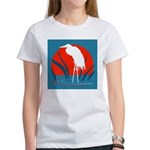 White Crane Women's T-Shirt