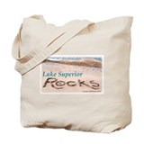 Lake Superior Rocks Tote Bag - Richer Image