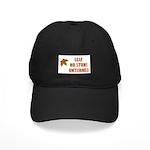 LEAF NO STONE UNTURNED Black Cap