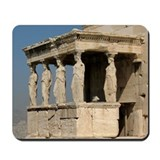 Caryatid Balcony Mousepad