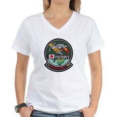 Patriot Missile Women's V-Neck T-Shirt