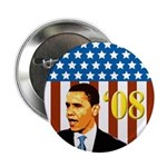 Patriotic Activist Obama '08 Buttons (100 pack)