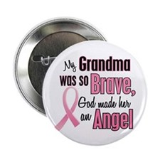 "Angel 1 (Grandma BC) 2.25"" Button (10 pack)"