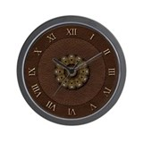 Leather Wall Clock