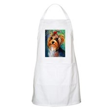Yorkshire terrier dog #1 BBQ Apron