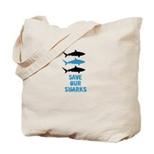 Cute Shark conservation Tote Bag