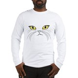 Kitty Face Long Sleeve T-Shirt