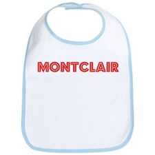 Retro Montclair (Red) Bib