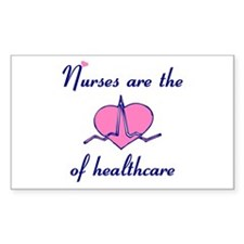 Nurse Rectangle Sticker 10 pk)