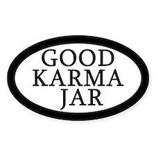 Good Karma Jar Tip Jar Decal