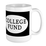 College Fund Coffee Mug Tip Jar