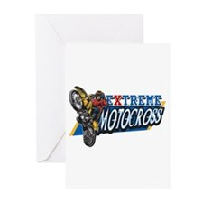 Extreme Motocross Greeting Cards (Pk of 20)