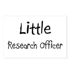 Little Research Officer Postcards (Package of 8)