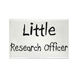 Little Research Officer Rectangle Magnet