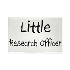 Little Research Officer Rectangle Magnet (10 pack)