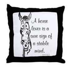 Appaloosa Horse Lover  Throw Pillow
