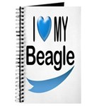 I Love My Beagle Journal