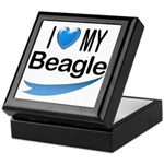 I Love My Beagle Keepsake Box
