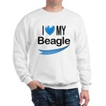 I Love My Beagle Sweatshirt