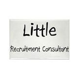 Little Recruitment Consultant Rectangle Magnet (10