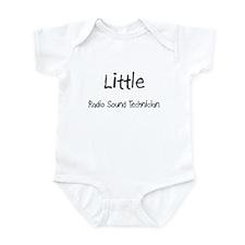 Little Radio Sound Technician Infant Bodysuit
