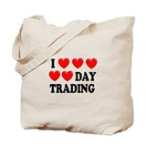 Day Trading Tote Bag