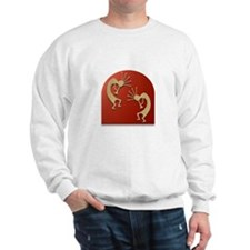 Two Kokopelli #127 Sweatshirt