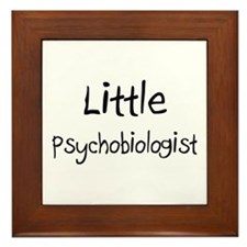 Little Psychobiologist Framed Tile