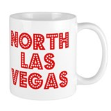 Retro North Las Ve.. (Red) Mug