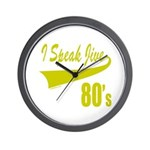 I SPEAK JIVE Wall Clock