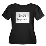 Little Programmer Women's Plus Size Scoop Neck Dar