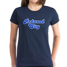 Retro Redwood City (Blue) Tee