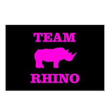Team Rhino Shirt Postcards (Package of 8)