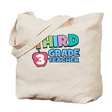 Third Grade Teacher Tote Bag
