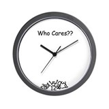 Who Cares Clock