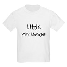 Little Print Manager T-Shirt